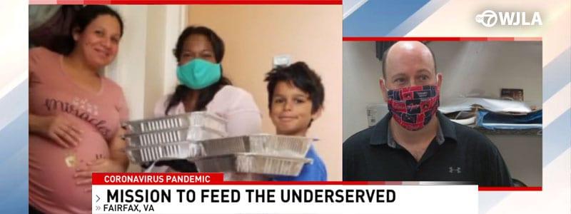 Jennifer Bush-Lawson Foundation Delivers 2500+ Meals (Good Morning Washington)